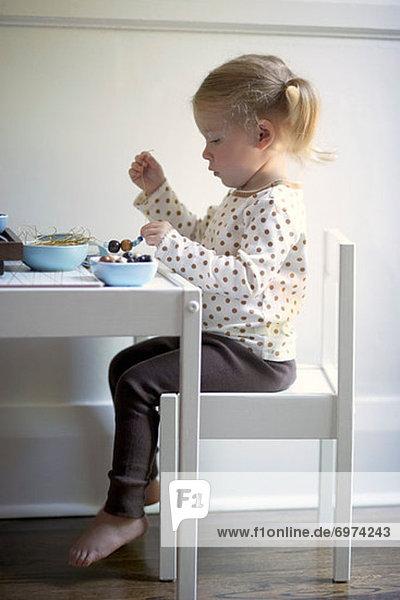 klein , Kunst , Handwerk , Mädchen