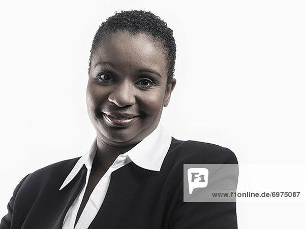 Porträt von Geschäftsfrau