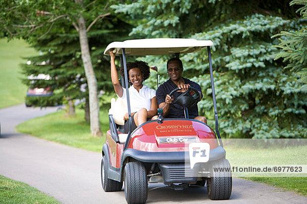 fahren  Fuhrwerk  Golfsport  Golf