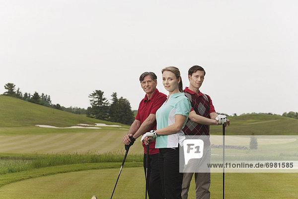 Portrait der Golfer