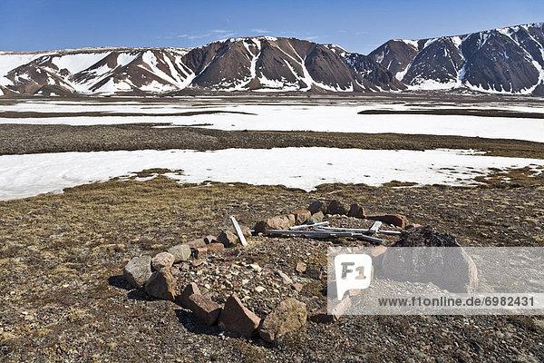 Ellesmere Island  Kanada  Nunavut
