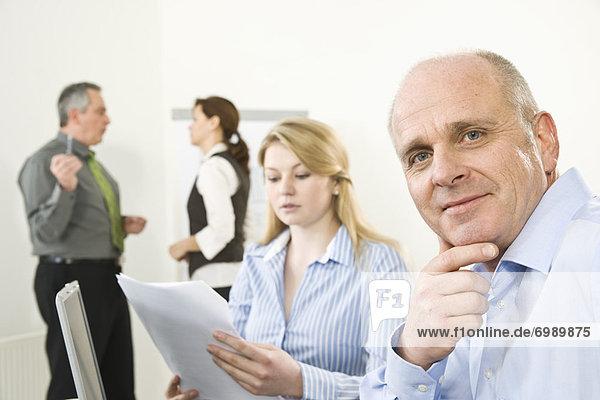 Geschäftsleute in Meeting
