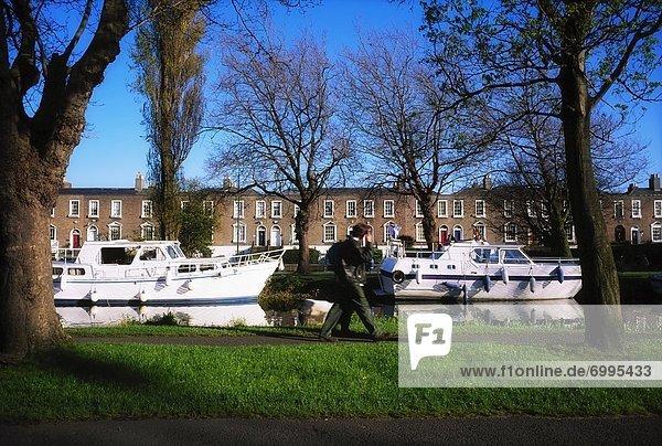 Dublin Hauptstadt Canale Grande Irland