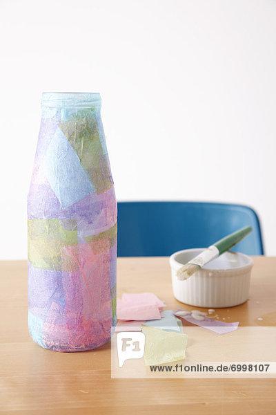 bedecken  Papier  Taschentuch  Flasche