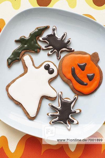 Lebkuchen  Keks  Halloween