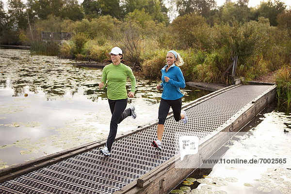 Frau , joggen , 2