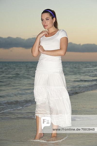 Frau  Hotel  Urlaub  Spa  Mexiko  playa del carmen  Quintana Roo  Riff  Halbinsel Yucatan