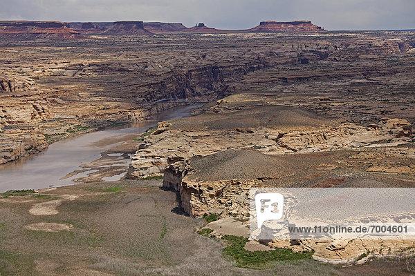 Vereinigte Staaten von Amerika  USA  Glen Canyon  Utah