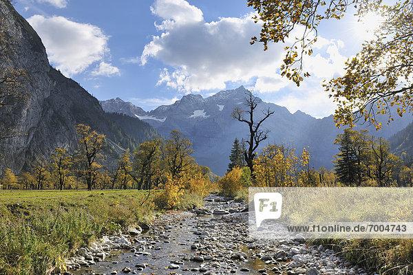 Karwendelgebirge  Österreich  Tirol
