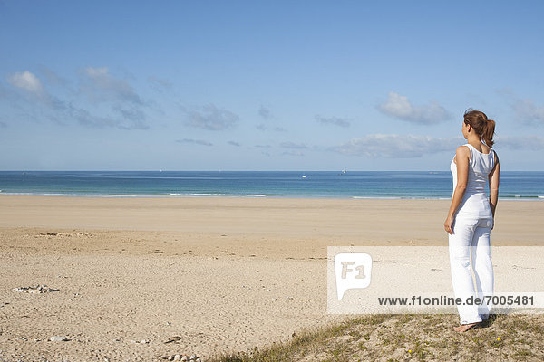 Frankreich  Strand  Finistere