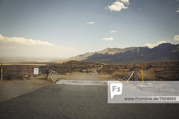 Aguirre Springs National Recreation Area  Organ Mountains  New Mexico  USA