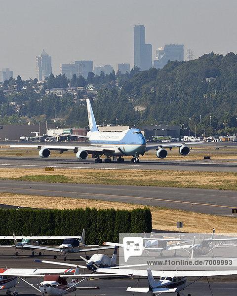 Herausforderung  Feld  Himmel  1  Boeing
