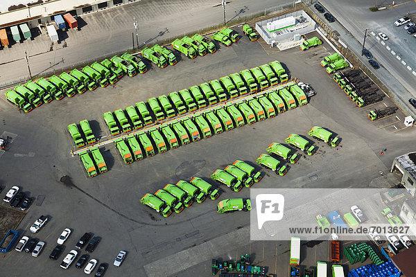Lastkraftwagen  Abfall  schnell reagieren
