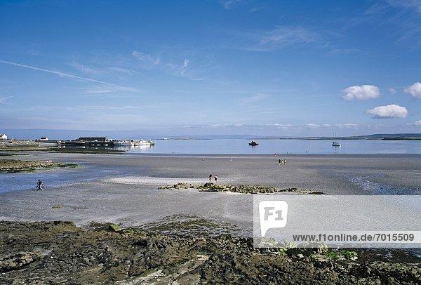 Aran Islands  Inishmore  Kilronan Beach Scenes