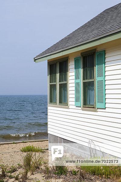 Strandhaus Außenaufnahme