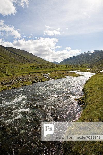Glera River  Akureyri  Iceland