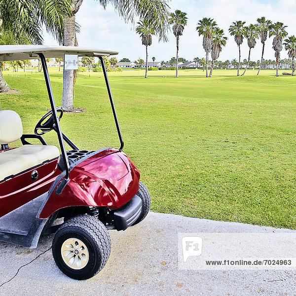 leer  Fuhrwerk  Golfsport  Golf  Kurs