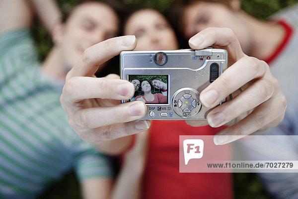 Freundschaft  über  fotografieren  3  gerade