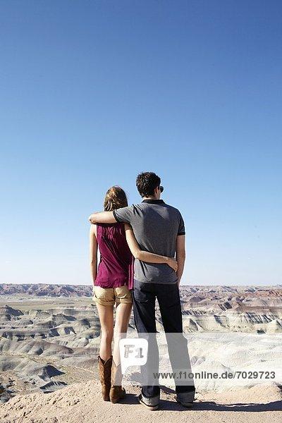Vereinigte Staaten von Amerika  USA  Felsen  sehen  Landschaft  Arizona  jung