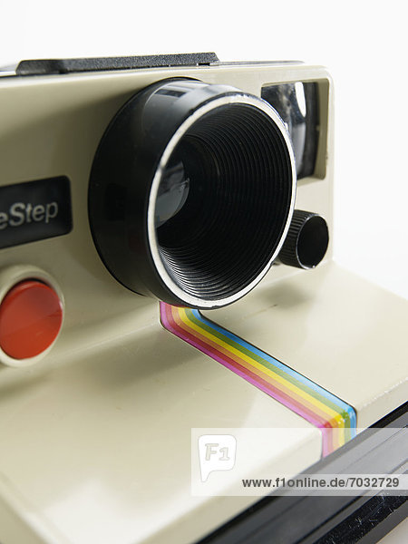 Close-Up of Instant Camera