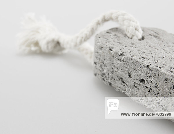 Close-Up of Pumice Stone on String