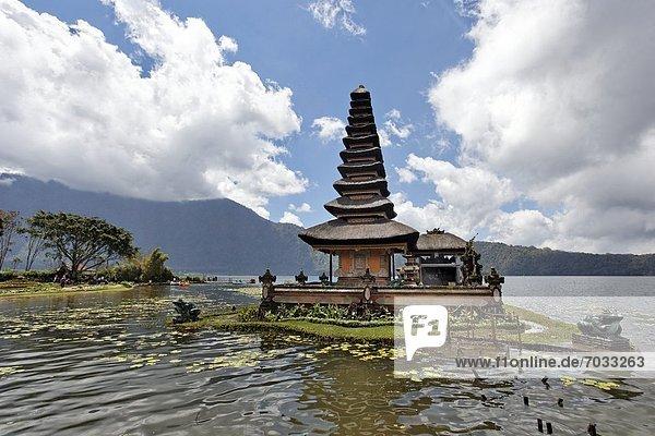 Seetempel Pura Ulun Danu Bratan  Bali  Indonesien