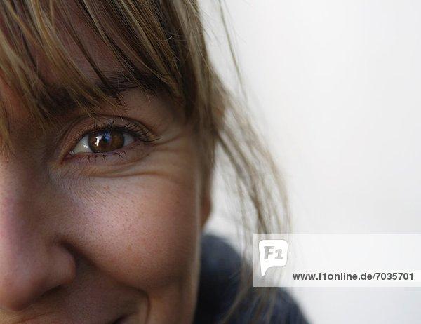 Frau lächeln Close-up close-ups close up close ups