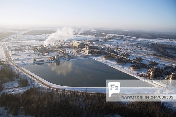Winter  Sand  Fernsehantenne  Alberta  Kanada  Öl
