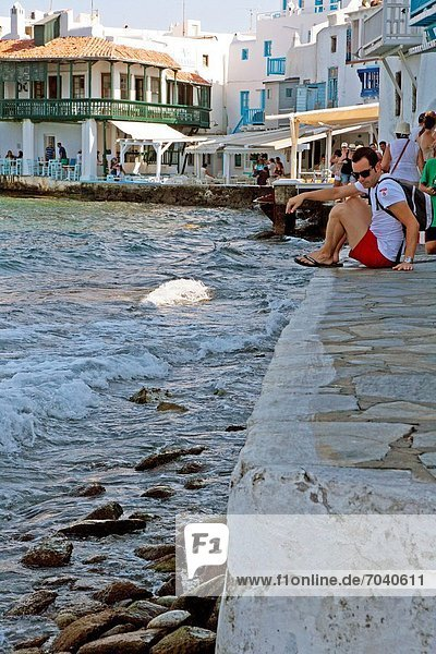 Griechenland  Little Venice  Mykonos