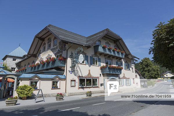 Gasthof Schorn  St. Leonhard bei Salzburg  Österreich  Europa
