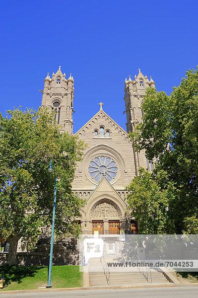 Madeleine-Kathedrale  Salt Lake City  Utah  USA  ÖffentlicherGrund