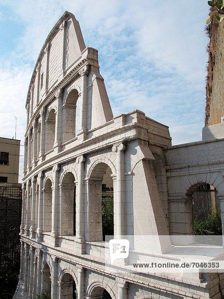 Rom  Hauptstadt  Skulptur  Garten  Italien  römisch