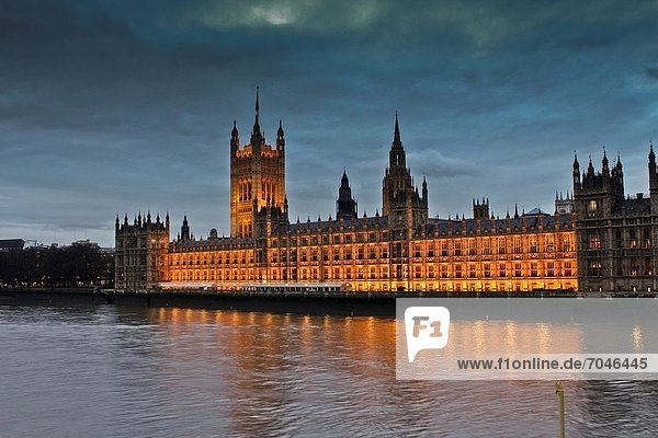 London Hauptstadt Houses of Parliament