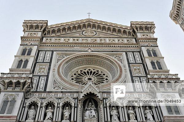 Cattedrale di Santa Maria del Fiore  Kathedrale Santa Maria del Fiore  Kathedrale von Florenz  Florenz  Toskana  Italien  Europa