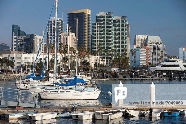 Vereinigte Staaten von Amerika  USA  Skyline  Skylines  San Diego  Kalifornien  Innenstadt
