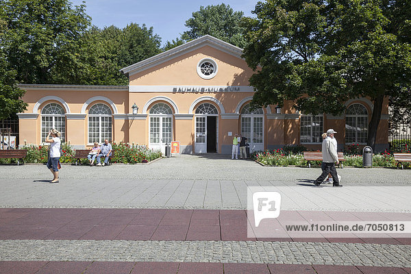 Bauhaus-Museum  Weimar  Thüringen  Deutschland  Europa