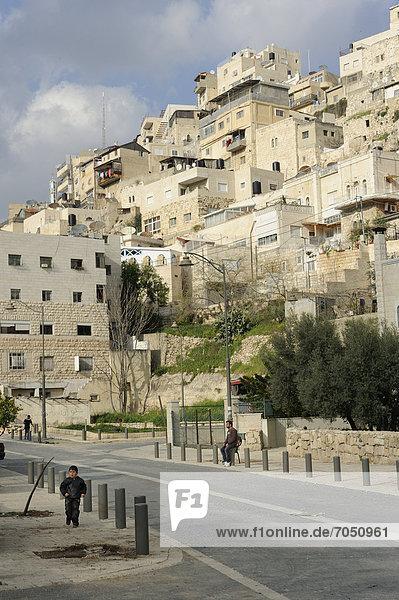 hoch oben bauen Zimmer Naher Osten Asien Israel Vorort
