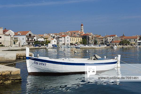 Hafen, Europa, Boot, Adriatisches Meer, Adria, Kroatien, Dalmatien