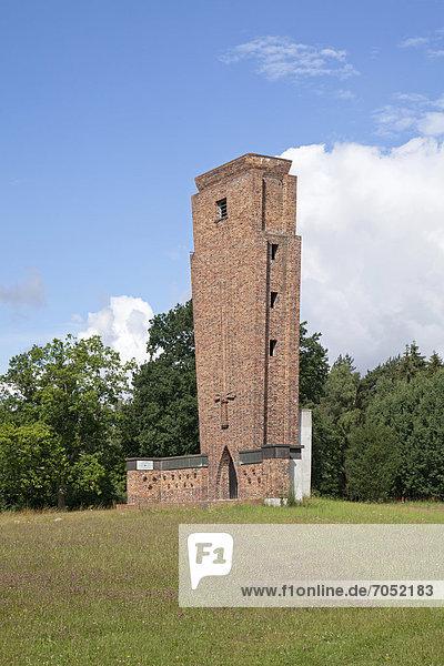 Aussichtsturm  Teterow  Mecklenburgische Schweiz  Mecklenburg-Vorpommern  Deutschland  Europa