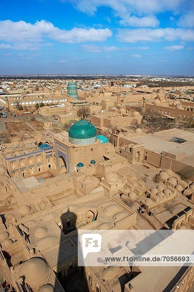 Uzbekistan  Khiva  Unesco World Heritage  general view