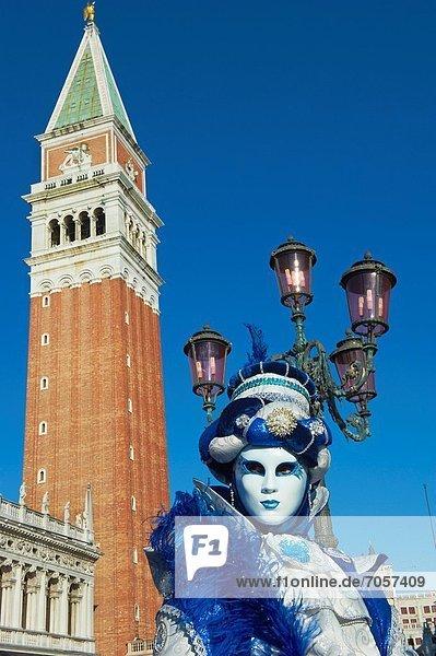 Italien  Veneto  Venedig  Karneval