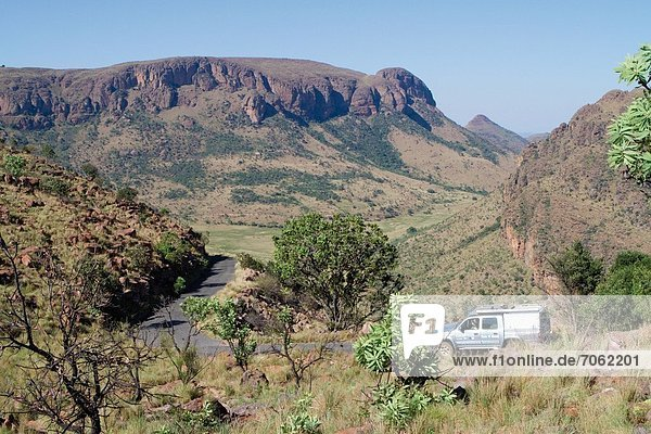 Mandatory Credit: Photo by Gallo Images / Rex Features (1847752b) The road that winds up to the Lenong viewpoint in the Marakele National Park South Africa - 2012