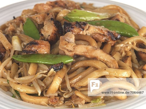 Mandatory Credit: Photo by Martin Lee / Rex Features (1896753aq) Miso Yaki Chicken Udon Noodles Various