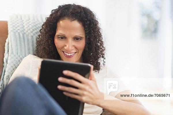 Frau  Tablet PC