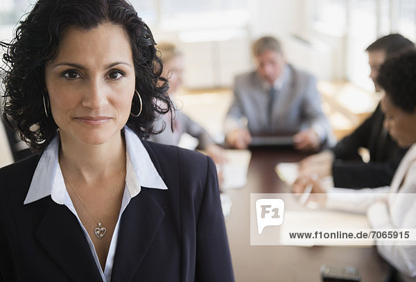 Porträt von Office worker