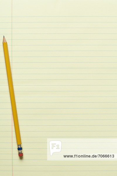 Bleistift  gelb  1