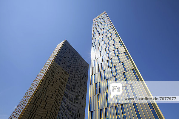 B¸rot¸rme vom Europäischen Gerichtshof  EuGH  Europaviertel Kirchberg-Plateau  Luxemburg Stadt  Europa  ÖffentlicherGrund
