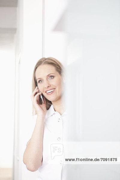 Deutschland  Zahnarzt am Telefon