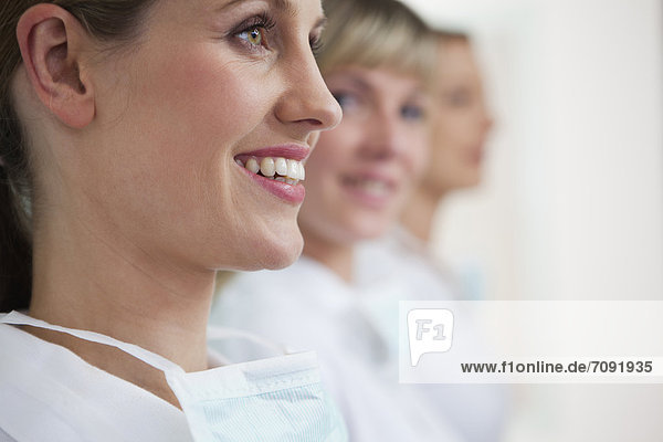 Germany  Dentist and assistance  smiling