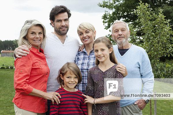 Germany  Bavaria  Nuremberg  Portrait of family